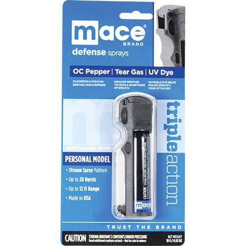 Triple Action Personal Pepper Spray by Mace View of Packaging