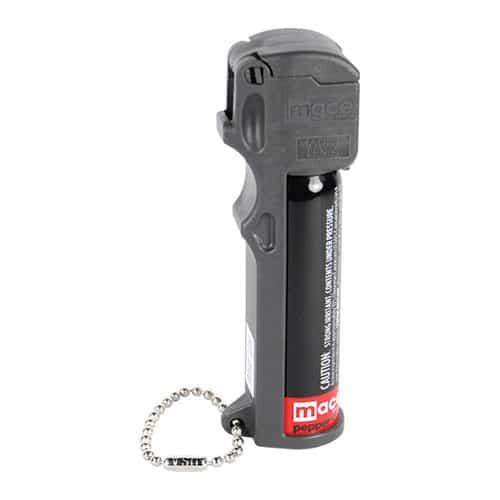 Mace® PepperGard Personal Pepper Spray Side View Showing Keychain
