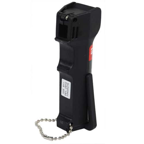 Mace Police Pepper Spray Back View of Keychain