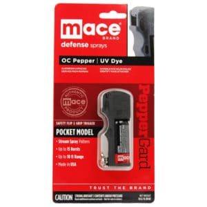 Mace® PepperGard Pocket Pepper Spray Viewed in Shipping Package