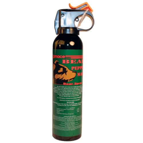 Mace Bear Repellent Spray Front View