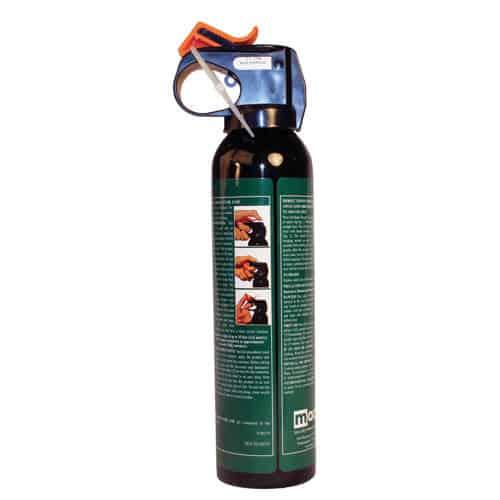 Mace Bear Repellent Spray Back View