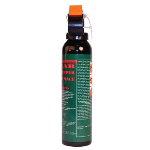 Mace Bear Repellent Spray Back View of Trigger