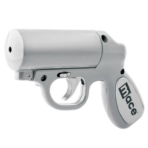 Silver Mace® Pepper Gun Front Angle View
