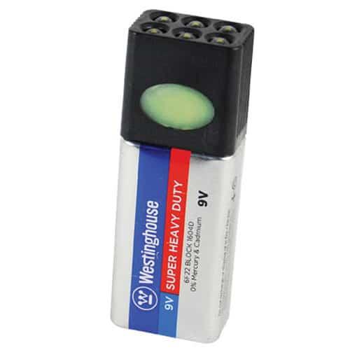 Blocklite 9 volt LED Flashlight Front View