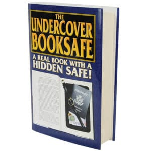 Secret Book Diversion Safe Side View