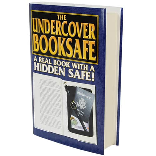 Secret Book Diversion Safe Side View