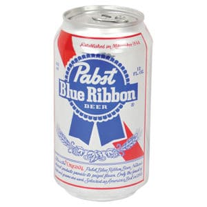 PBR Beer Can Hidden Safe Front View