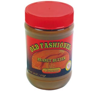 Front View Peanut Butter Diversion Safe