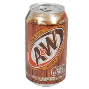 Rootbeer Soda Can Hidden Safe Front View