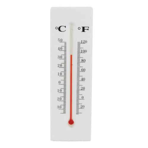 Thermometer Hidden Safe Front View