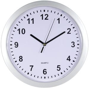 Wall Clock Covert Diversion Safe View Front Face