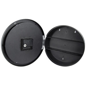 Wall Clock Covert Diversion Safe View Stash Section
