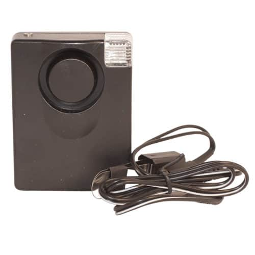 3 in 1 130 db Personal Safety Alarm With Light Front View Showing Specialty Sensor