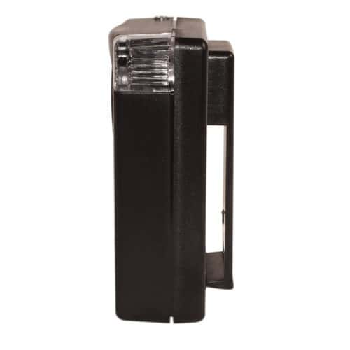 3 in 1 130 db Personal Safety Alarm With Light and Belt Clip Side View