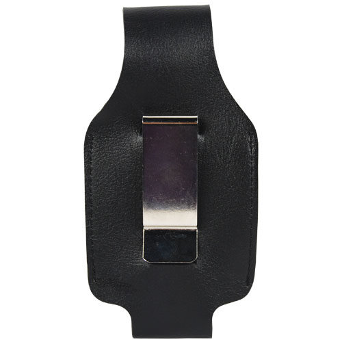 2 ounce or 4 ounce Pepper Spray Holster Leatherette Belt Clip Rear View
