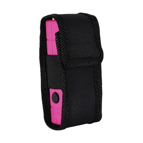 Small Pink Lil Guy Stun Gun Viewed in Nylon Case