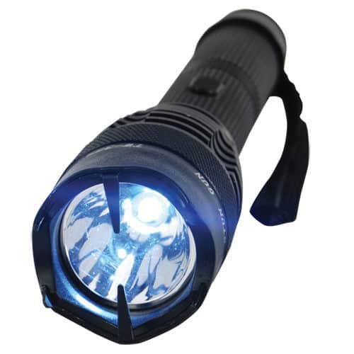 Mini Badass 15,000,000 volts Stun Gun Flashlight Front View