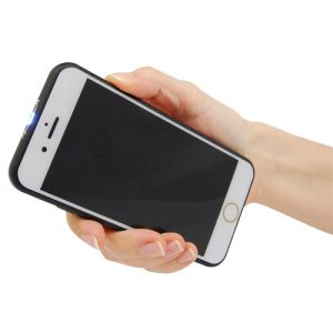 Cell Phone Stun Gun Front View Held in Hand