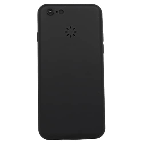 Rechargeable Stun Gun Cell Phone Back View