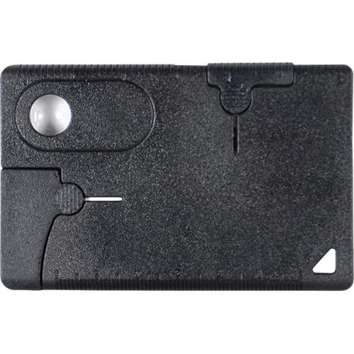 Multi Purpose Pocket Survival Card Front View