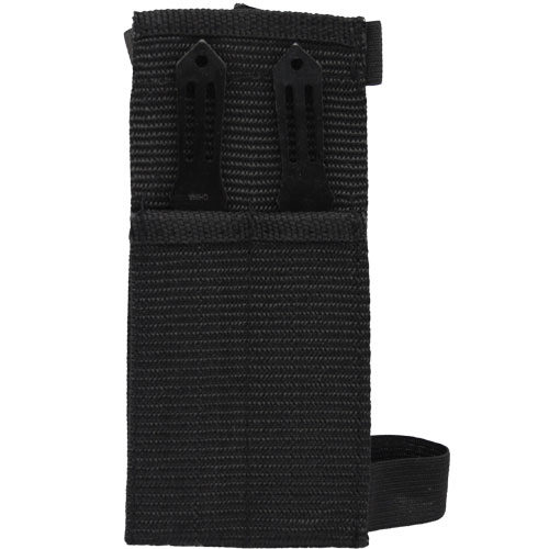 2 Piece Throwing Knife Set View of Sheath