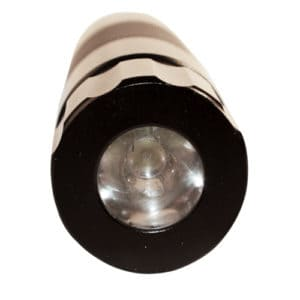 Screw on LED For Telescopic Steel Baton View of Light