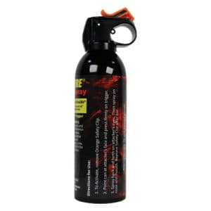 16 ounce Wildfire™ Fire Master Pepper Spray Fogger Side view