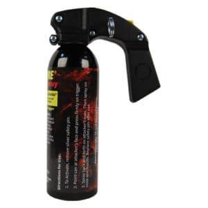 16 ounce Wildfire™ Pepper Spray Pistol Grip Fogger Side view