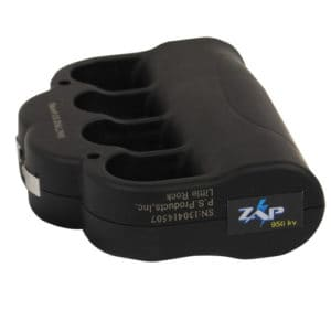 ZAP Knuckle Blaster Stun Gun Bottom View