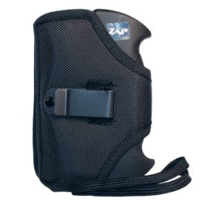 ZAP Double Trouble Stun Gun Back View Holster with Belt Clip