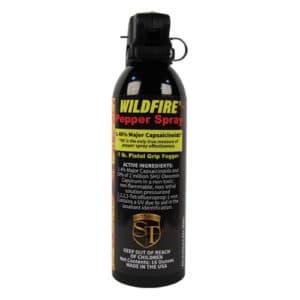 1.4% MC WildFire™ Pepper Spray 16 oz Fogger Pistol Grip View of Active Ingredients