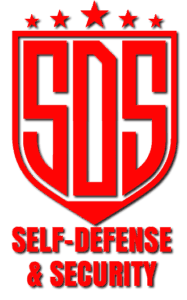 cropped Red Self-Defense and Security Logo