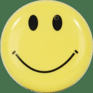 Smiley Face Button Hidden Camera Front View