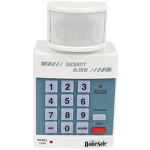 Home Security Alarm System with Keypad Front View