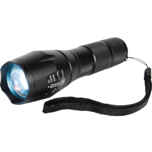 Personal Safety Light Front View with Wrist Strap