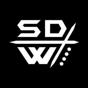 Security Defense Weapons Profile Logo White on Black
