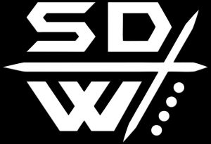 cropped Security Defense Weapons Profile Logo White on Black