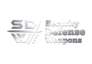 Self Defense Weapons Silver Logo – Security Products – Personal Protection Items