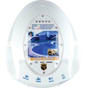 Pool Alarm Showing Electronics