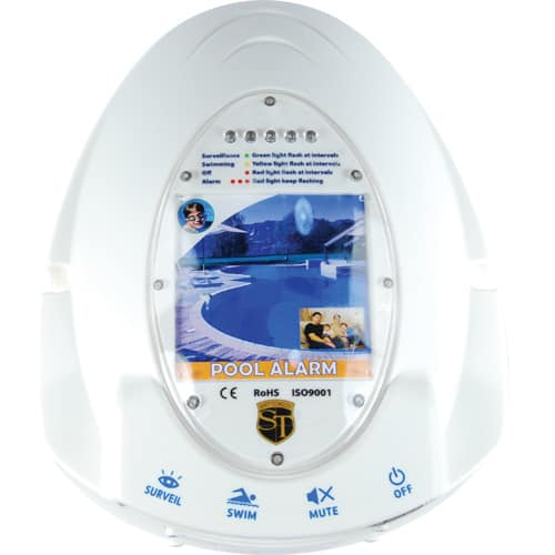 Pool Alarm Showing Electronics