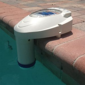 Pool Alarm Side View In Water