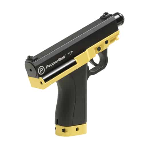 TCP PepperBall Launcher Pistol Side View