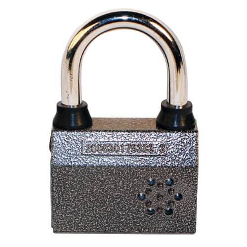 Security Alarm Small Padlock Front View
